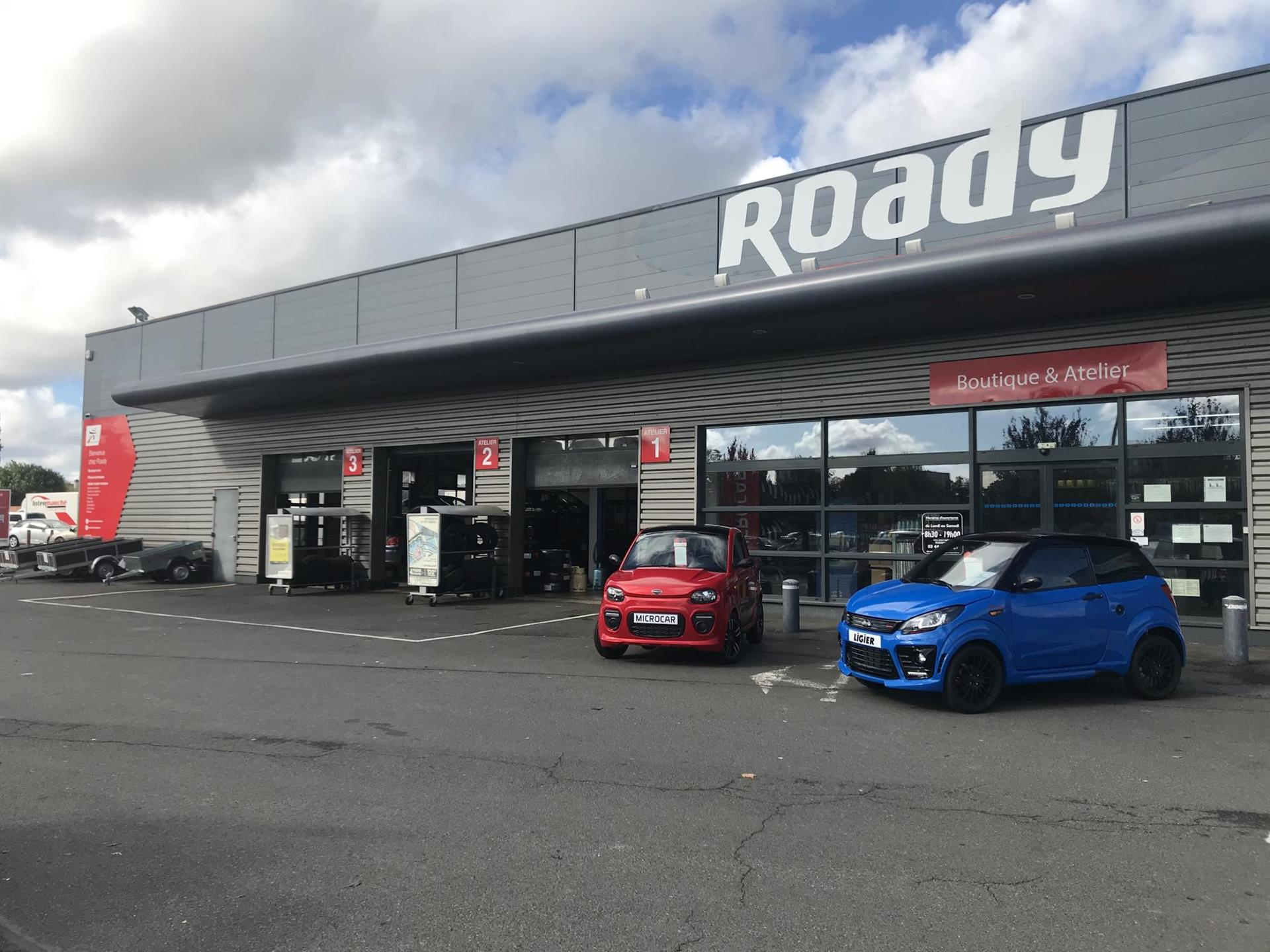 Photo Centre Auto Roady Beauvais Nord